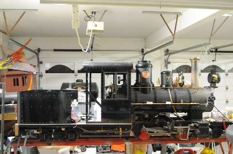 Steam engine uncovered